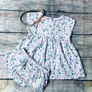 Nordstrom Baby sz 3m floral outfit